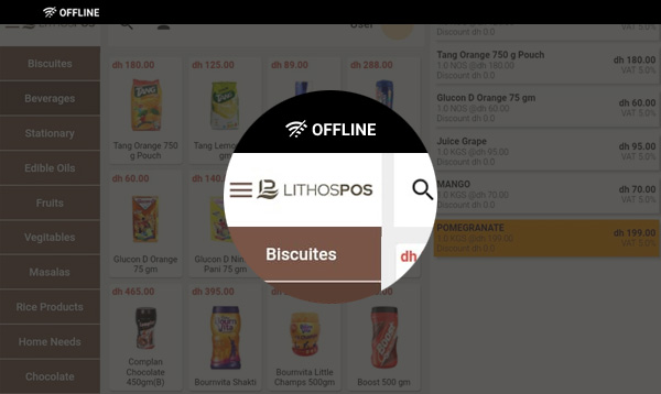 use online and ofline pos software